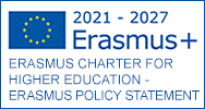 Logo Erasmus+, Erasmus Charter for Higher Education - Erasmus Policy Statement